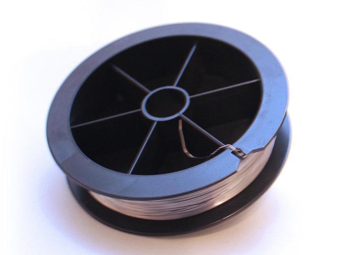 Дріт коротрона (нитка, струна, котушка 20м) Corona Wire FY3-0040 для Canon NP-1215, NP-7161, NP-6317, NP-2020, NP-6050