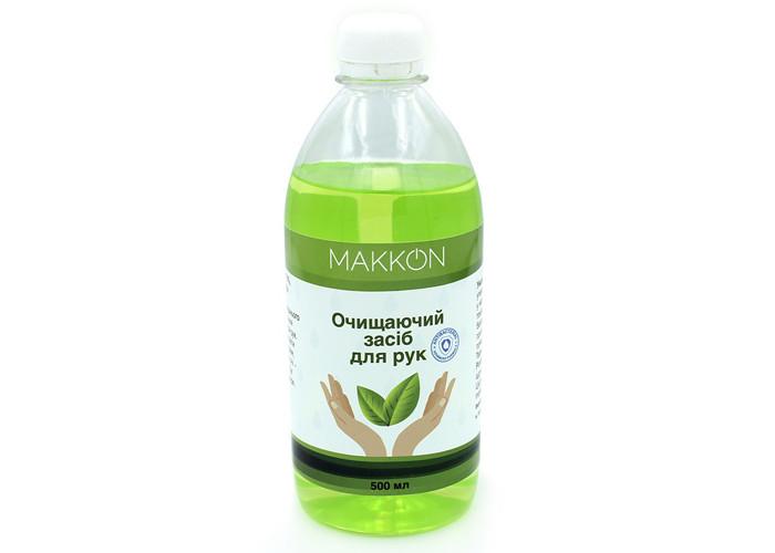 Санітайзер для рук з антибактеріальною дією Makkon (500мл)