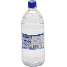Вода обезсолена для промивки картриджів та друкуючих голівок (1л)