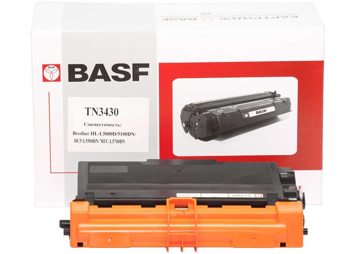 Картридж BASF аналог Brother TN-3480 (HL-L5000, L5100, L5200, L5500) KT-TN3430