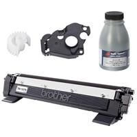 Інструкція по заправці картриджа Brother TN-1075 для принтерів HL-1110, DCP-1510, MFC-1810