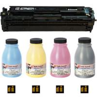 Заправка картриджів HP 201A, Canon 045 для Color M252, M277, M274, LBP611, LBP612, LBP613, MF631, MF632