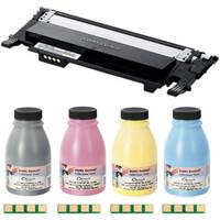 Заправка картриджа Samsung 407 для CLP-320, CLP-325, CLX-3180, CLX-3185