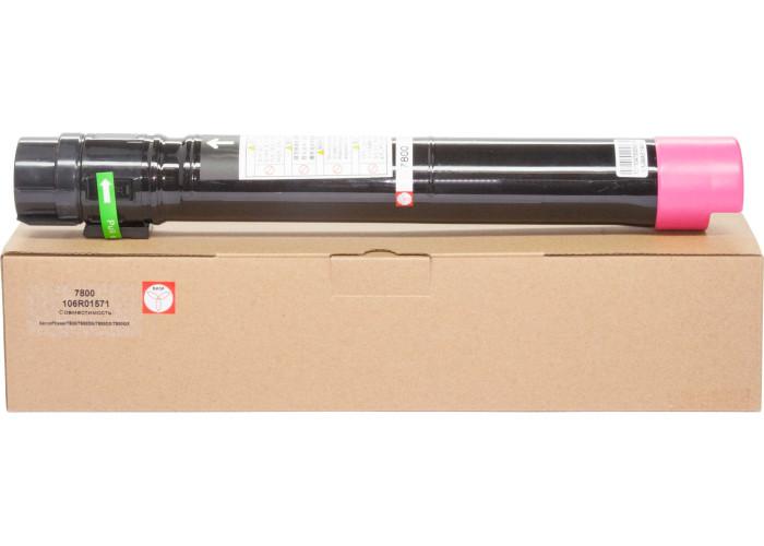 Картридж BASF для Xerox Phaser 7800 аналог 106R01571 Magenta
