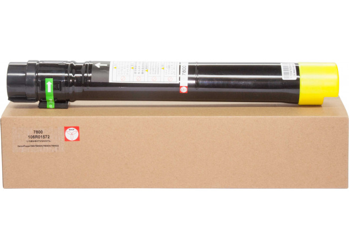 Картридж BASF аналог Xerox 106R01572 (Phaser 7800) Yellow