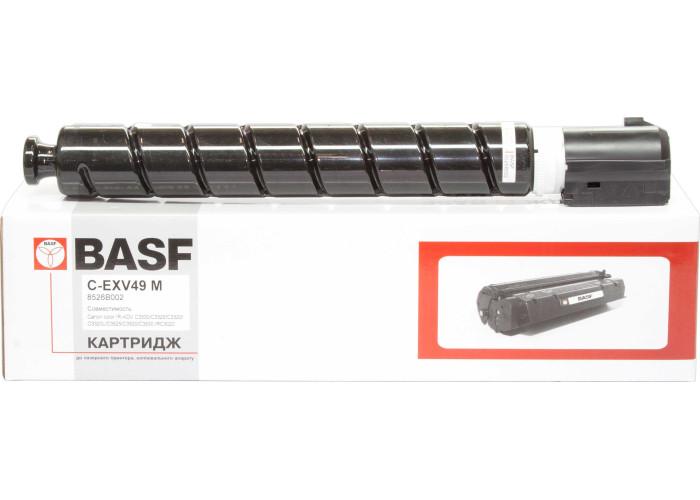Картридж BASF аналог Canon C-EXV49 (imageRUNNER C3320, C3325, C3330, C3520, C3525) Magenta