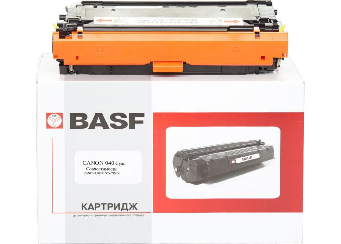 Картридж BASF аналог Canon 040 (LBP710Cx, LBP712Cdn) Cyan