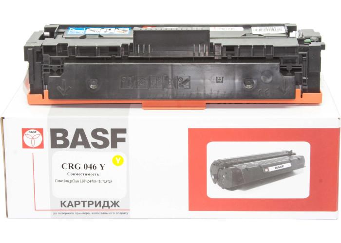 Картридж BASF аналог Canon 046Y (LBP650, LBP653, LBP654, MF730, MF731, MF732, MF733, MF734, MF735) Yellow