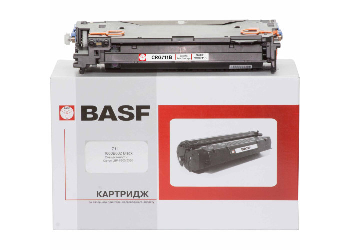 Картридж BASF аналог Canon 711 (LBP-5300, LBP-5360, MF8450, MF9130, MF9150, MF9220, MF9280) Black