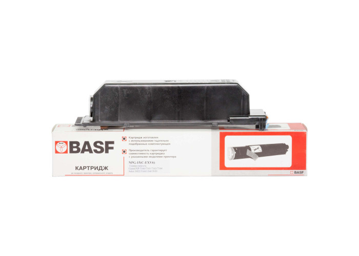 Туба з тонером BASF аналог Canon C-EXV6 (NP-7160, NP-7161, NP-7163, NP-7164)