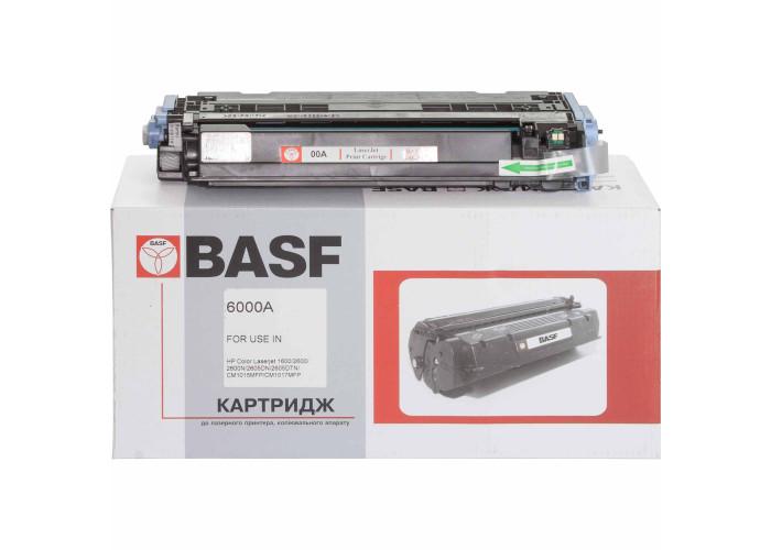 Картридж BASF аналог HP 124А, Q6000A (CLJ 1600, 2600, 2605, CM1015, CM1017 MFP) Black