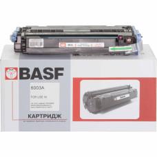 Картридж BASF аналог HP 124А, Q6003A (CLJ 1600, 2600, 2605, CM1015, CM1017 MFP) Magenta