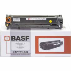 Картридж BASF аналог HP 125А, CB542A (CP1210, CP1215, CP1510, CP1515, CP1518, CM1312) Yellow