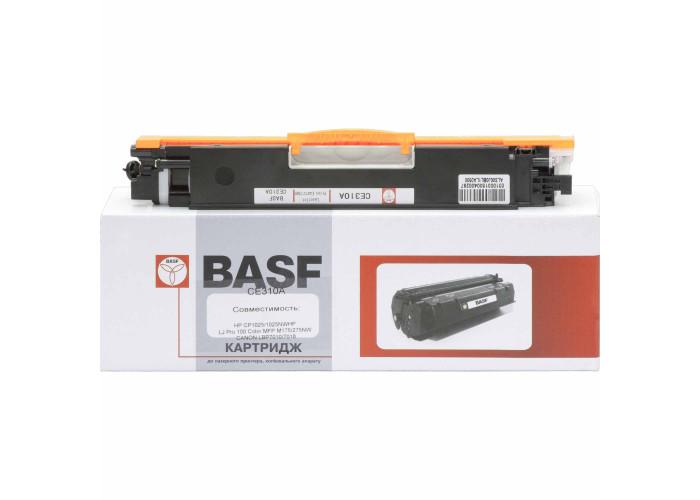 Картридж BASF аналог HP 126А, CE310A для CP1012, CP1020, CP1025, Pro 100 M175, TopShot Pro M275 (KT-CE310A) Black