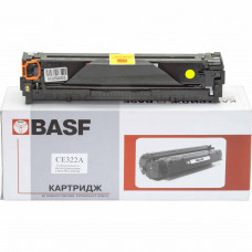 Картридж BASF для Color CP1525, CM1415 аналог HP 128А, CE322A Yellow