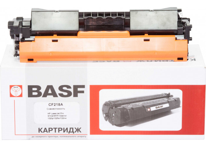 Картридж BASF аналог HP CF218A (LaserJet Pro M104, M132 MFP)