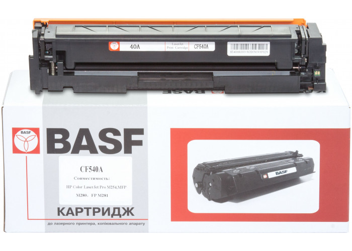 Картридж BASF аналог HP 203A, CF540A (CLJ Pro M254, M280, M281) Black