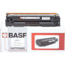 Картридж BASF аналог HP 203A, CF542A (CLJ Pro M254, M280, M281) Yellow