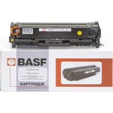 Картридж BASF аналог HP CC532A, Canon 718 (CP2025, CM2320, LBP-5280, LBP-7200, LBP-7600, MF8330) Yellow