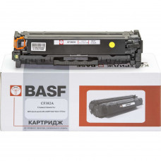 Картридж BASF аналог HP 312A, CF382A (Color LaserJet Pro M476 MFP) Yellow