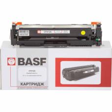 Картридж BASF аналог HP 410A, CF412A (CLJ Pro M377, M452, M477) Yellow