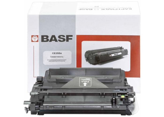 Картридж BASF аналог HP 55A, CE255A (Enterprise P3015, M521, M525 MFP)