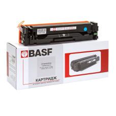 Картридж BASF аналог HP 201A, CF401A (CLJ Pro M252, M274, M277) Cyan