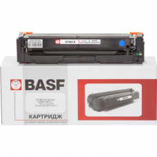 Картридж BASF аналог HP 201X, CF401X (CLJ Pro M252, M274, M277) Cyan