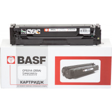Картридж BASF аналог HP 205A, CF531A (CLJ Pro M154, M180, M181) Cyan