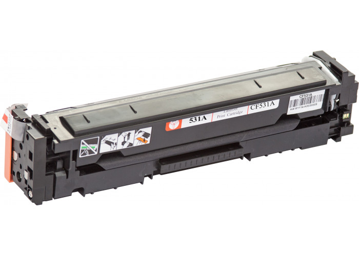 Картридж BASF для HP Color LaserJet Pro M154, M180, M181 (аналог CF531A) Cyan