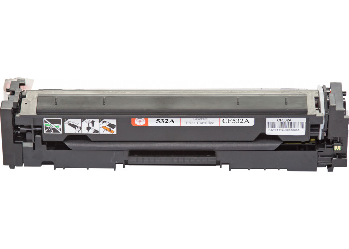 Картридж BASF аналог HP 205A, CF532A (CLJ Pro M154, M180, M181) Yellow