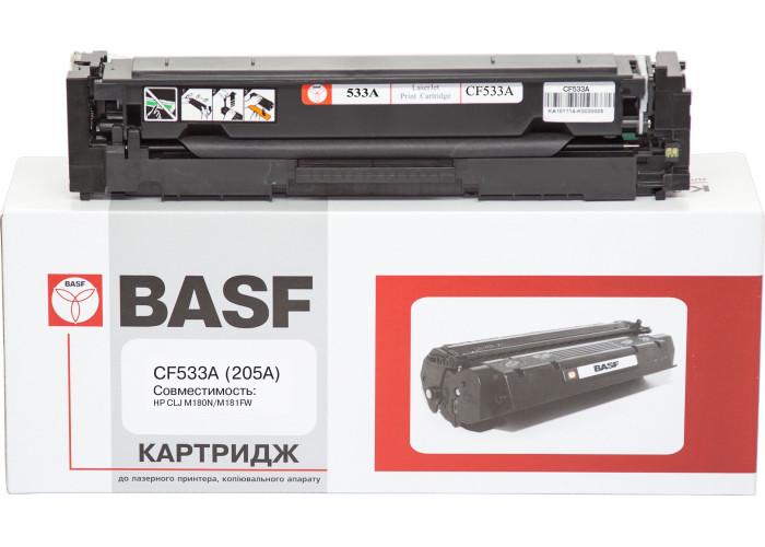 Картридж BASF аналог HP 205A, CF533A (CLJ Pro M154, M180, M181) Magenta