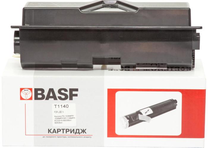 Туба з тонером BASF аналог Kyocera Mita TK-1140 (FS-1035, FS-1135, Ecosys M2035, M2535)