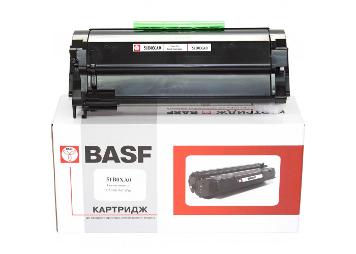 Картридж BASF аналог Lexmark 51B0XA0 для MS517, MS617, MX517, MX617, 20k