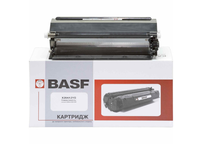 Картридж BASF аналог Lexmark X264A11G (X264, X363, X364 MFP)