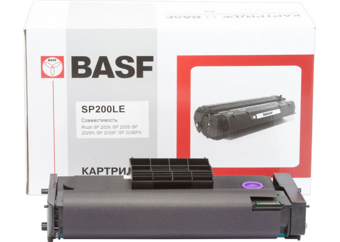 Картридж BASF аналог Ricoh 407263 (SP200, SP202, SP210, SP212)