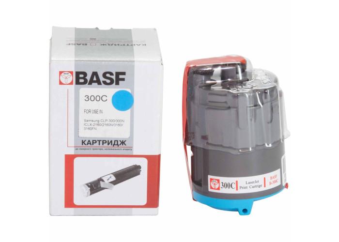 Картридж BASF аналог Samsung CLP-300C (CLP-300, CLX-2160, CLX-3160) Cyan
