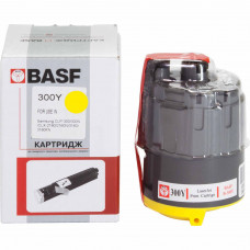 Картридж BASF аналог Samsung CLP-300Y Yellow (CLP-300, CLX-2160, CLX-3160)