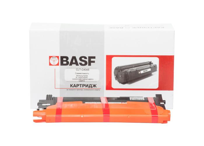 Картридж BASF аналог Samsung CLT-C404S (Xpress SL-C430, SL-C480) Cyan