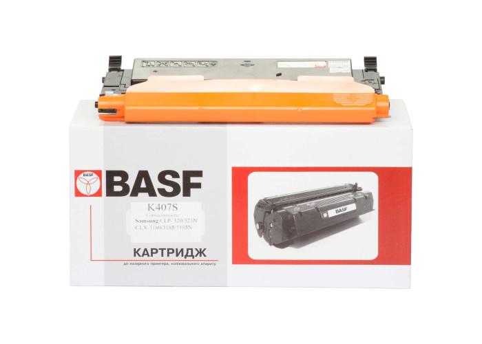 Картридж BASF аналог Samsung K407S (CLP-320, CLP-325, CLX-3180, CLX-3185) Black