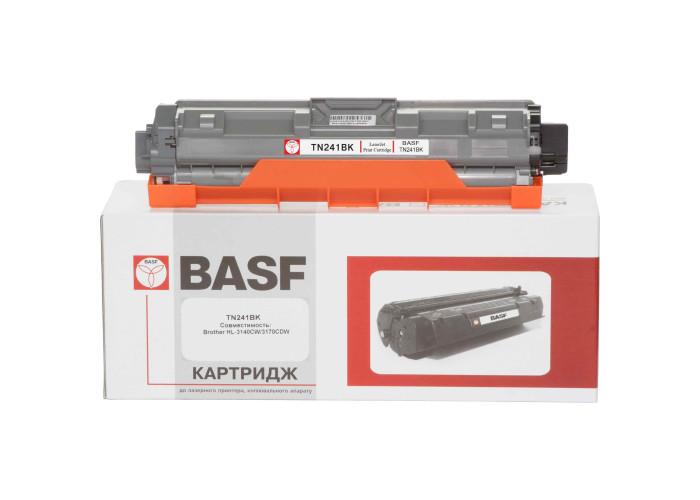 Картридж BASF аналог Brother TN241BK (HL-3140, HL-3150, HL-3170, DCP-9020, MFC-9130, MFC-9140, MFC-9330) Black