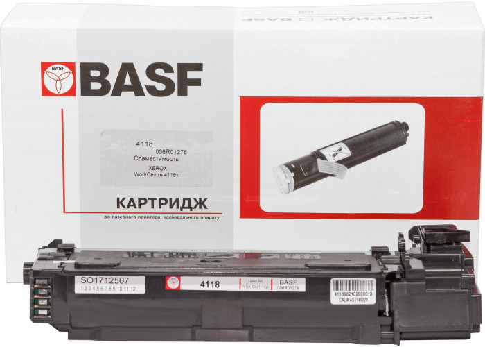 Картридж BASF аналог Xerox 006R01278 (WorkCentre 4118)