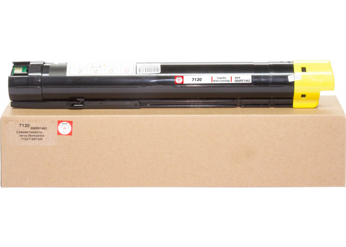 Картридж BASF аналог Xerox 006R01462 (WorkCentre 7120, WC7125, WC7220, WC7225) Yellow