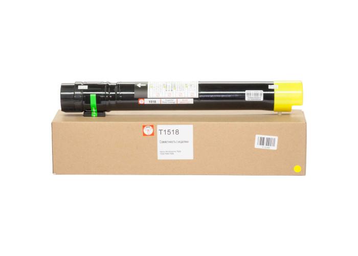 Картридж BASF аналог Xerox 006R01518 (WorkCentre 7525, 7530, 7535, 7545, 7556) Yellow