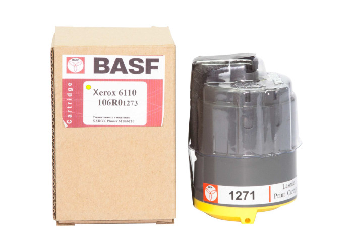 Картридж BASF аналог Xerox Phaser 6110 (106R01273) Yellow