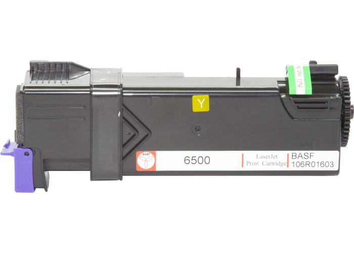 Картридж BASF аналог Xerox 106R01603 (Phaser 6500, WorkCentre 6505) Yellow
