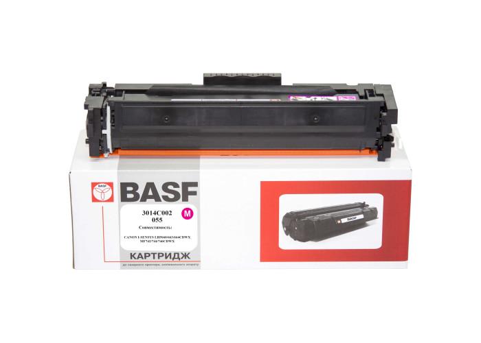 Картридж BASF аналог Canon 055 Magenta (LBP660C, LBP662, LBP663, LBP664, MF740C, MF742, MF744, MF746) БЕЗ ЧІПА