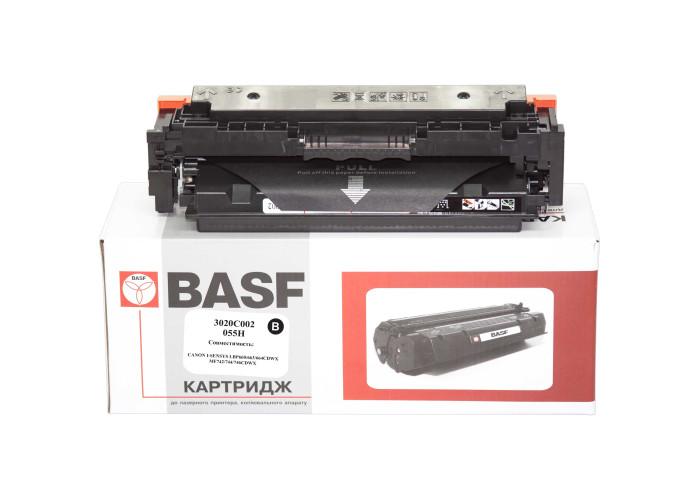 Картридж BASF аналог Canon 055H Black (LBP660C, LBP662, LBP663, LBP664, MF740C, MF742, MF744, MF746) БЕЗ ЧІПА