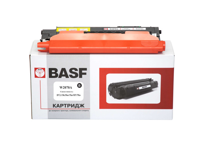 Картридж BASF аналог HP 117А, W2070A Black (Color Laser 150, 178, 179 MFP) БЕЗ ЧІПА