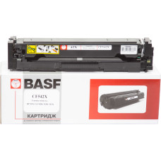 Картридж BASF аналог HP 203X, CF542Х (Color Pro M254, M280, M281) Yellow